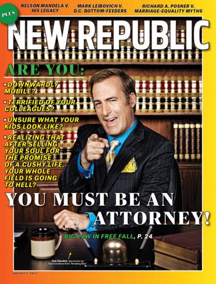 The New Republic Cover - 8/5/2013