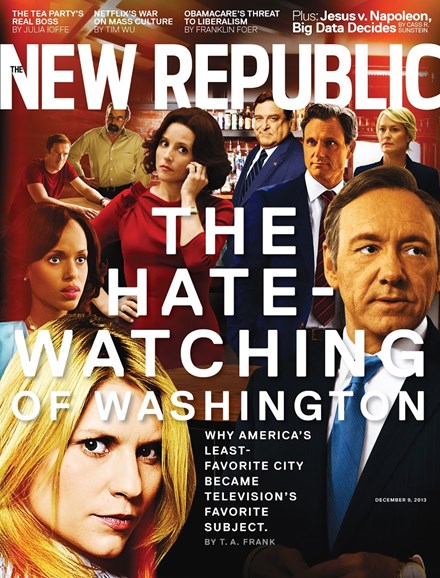 The New Republic Cover - 12/9/2013