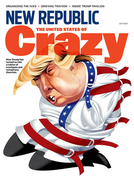 The New Republic Cover - 7/1/2017