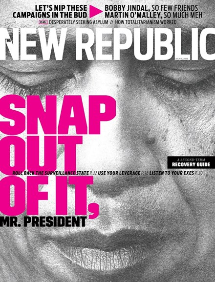 The New Republic Cover - 7/15/2013
