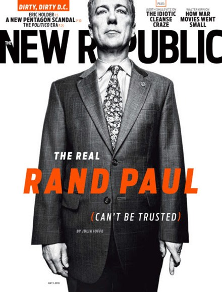 The New Republic Cover - 7/1/2013