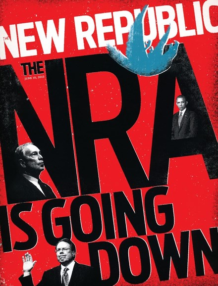 The New Republic Cover - 6/10/2013