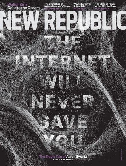 The New Republic Cover - 3/11/2013
