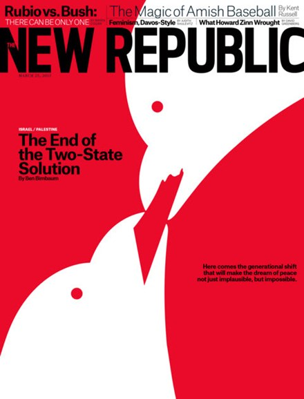 The New Republic Cover - 3/25/2013
