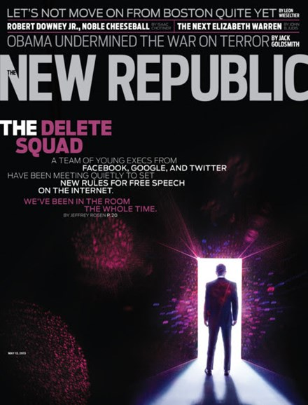 The New Republic Cover - 5/13/2013