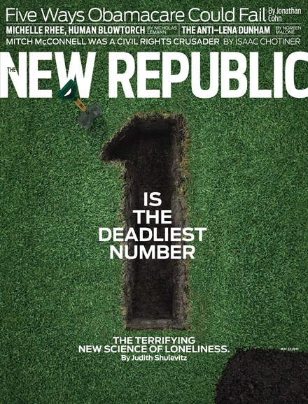 The New Republic Cover - 5/27/2013