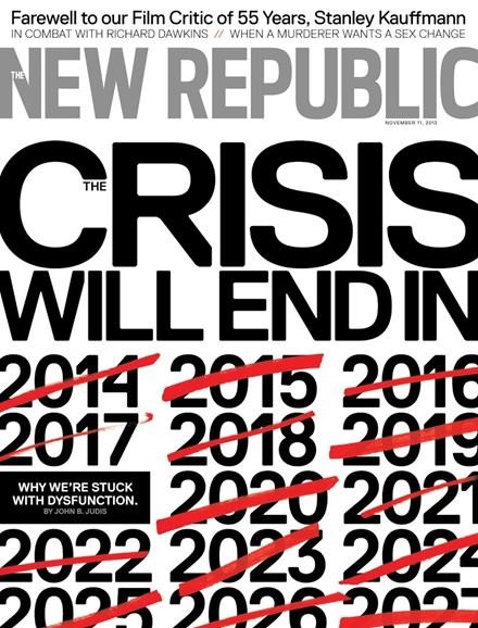 The New Republic Cover - 11/11/2013