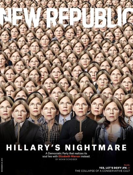 The New Republic Cover - 11/25/2013