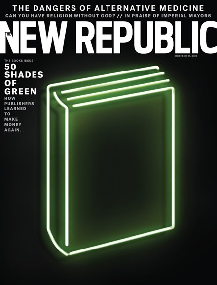 The New Republic Cover - 10/21/2013