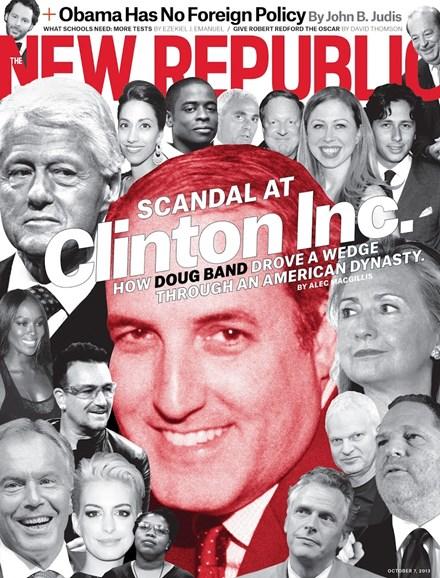The New Republic Cover - 10/7/2013