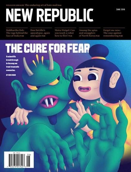 The New Republic Cover - 6/1/2016