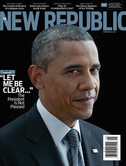The New Republic Cover - 2/11/2013