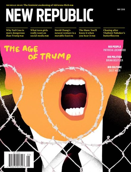 The New Republic Cover - 5/1/2016