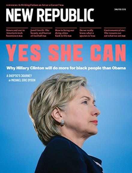The New Republic Cover - 1/1/2016