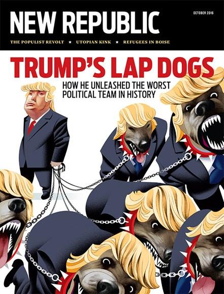 The New Republic Cover - 10/1/2016
