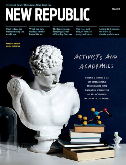 The New Republic Cover - 10/1/2015