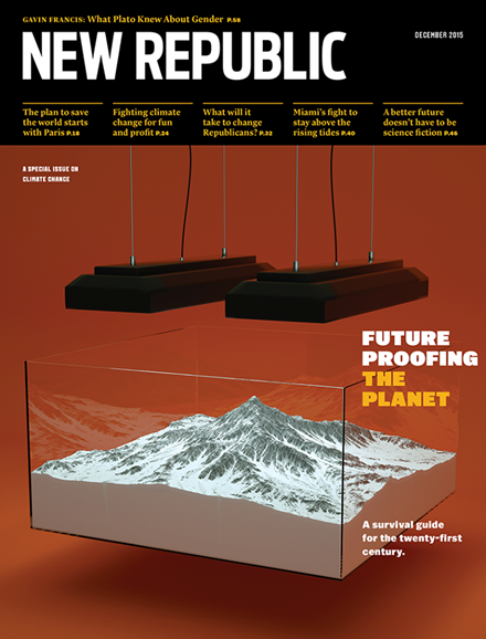 The New Republic Cover - 12/1/2015