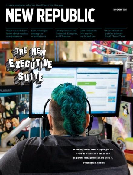 The New Republic Cover - 11/1/2015