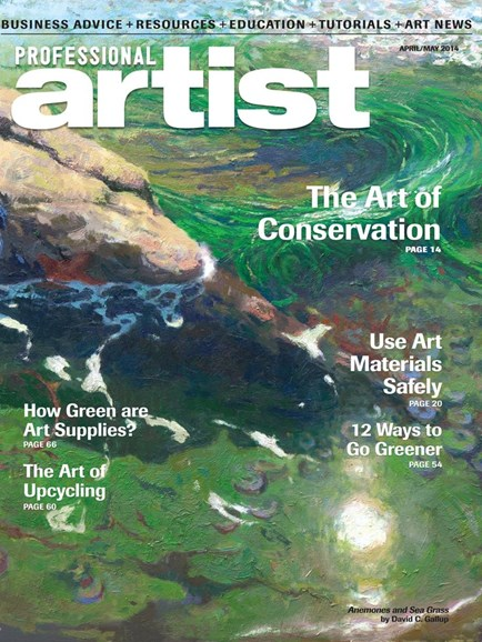 Professional Artist Cover - 4/1/2014