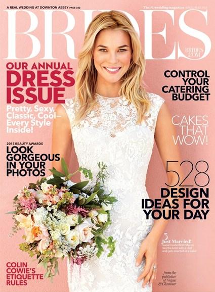 Brides Cover - 4/1/2015