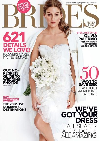 Brides Cover - 6/1/2014