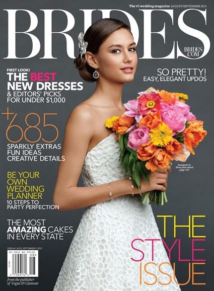 Brides Cover - 8/1/2013
