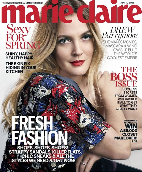 Marie Claire Cover - 4/1/2016