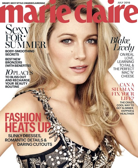 Marie Claire Cover - 7/1/2016