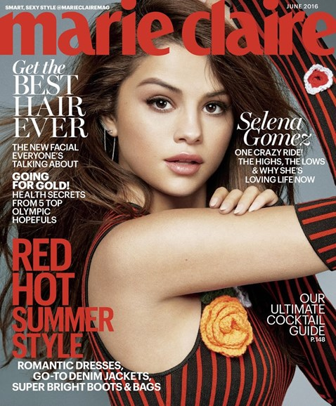Marie Claire Cover - 6/1/2016