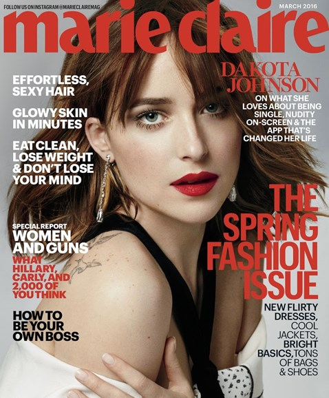 Marie Claire Cover - 3/1/2016