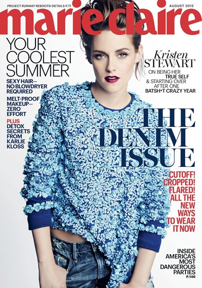 Marie Claire Cover - 8/1/2015