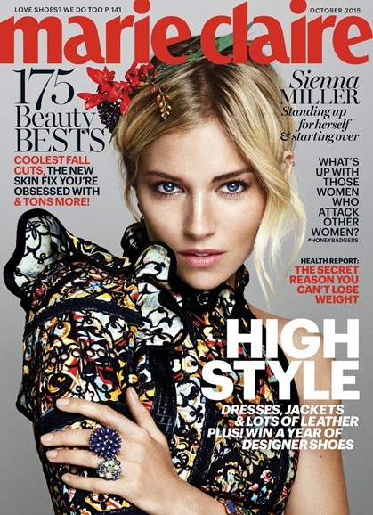 Marie Claire Cover - 10/1/2015