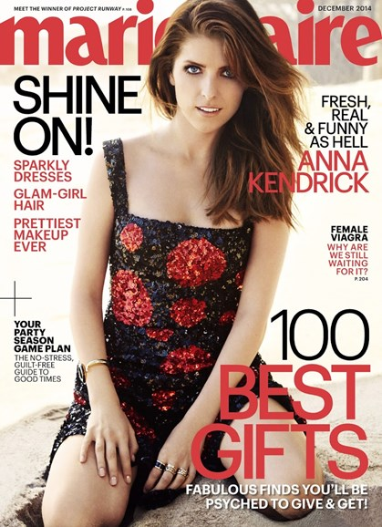 Marie Claire Cover - 12/1/2014