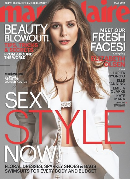 Marie Claire Cover - 5/1/2014