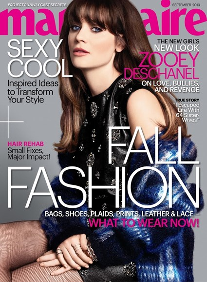Marie Claire Cover - 9/1/2013