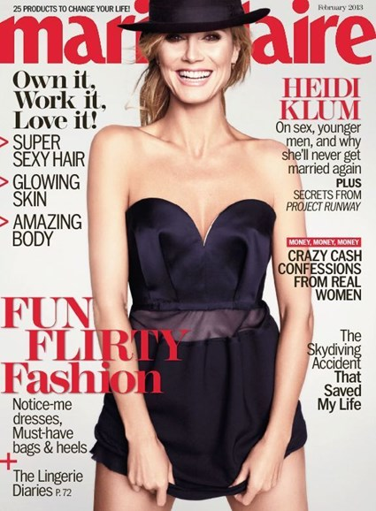 Marie Claire Cover - 2/1/2013
