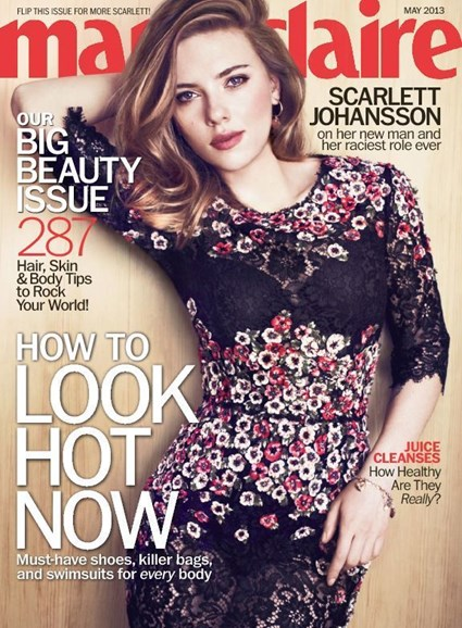 Marie Claire Cover - 5/1/2013