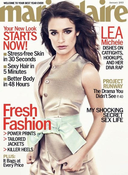 Marie Claire Cover - 1/1/2013