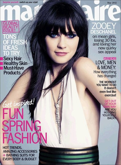 Marie Claire Cover - 5/1/2012