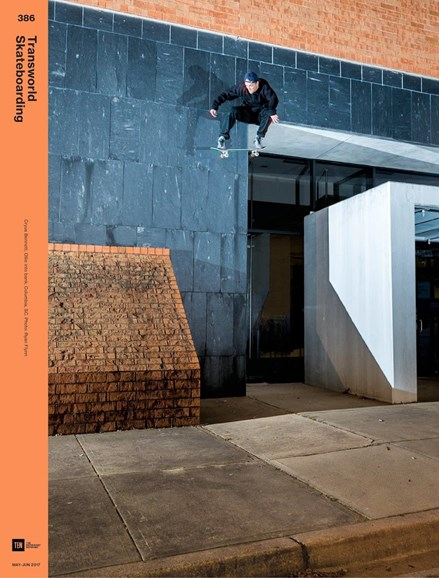 Transworld SKATEboarding Cover - 5/1/2017
