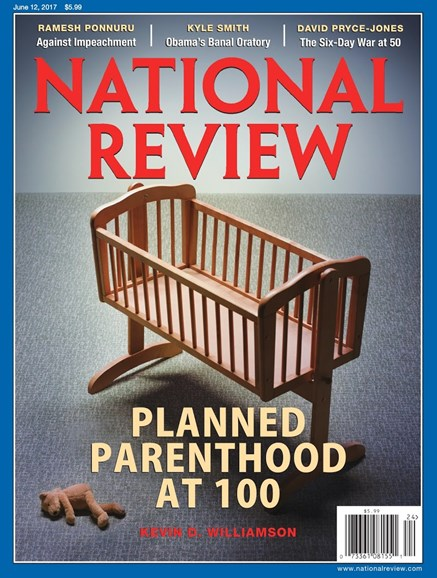 National Review Cover - 6/12/2017