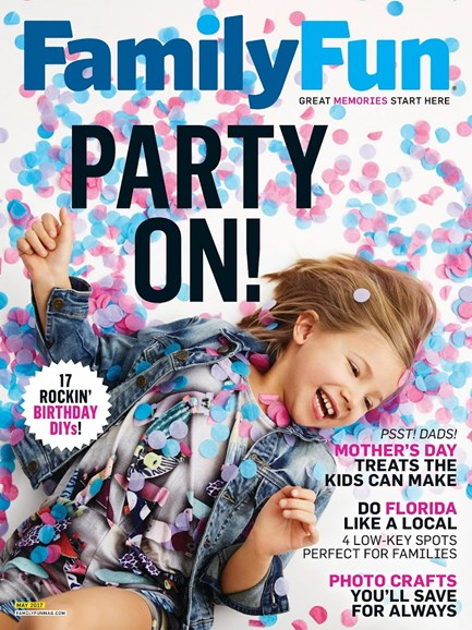 Family Fun Cover - 5/1/2017