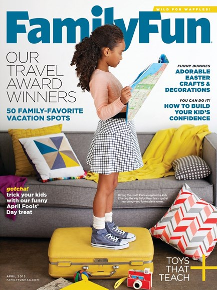 Family Fun Cover - 4/1/2015