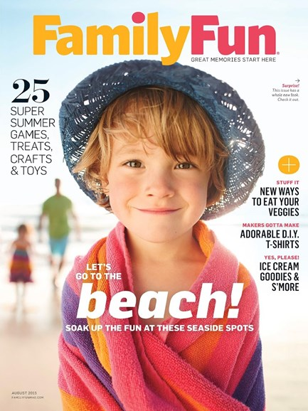 Family Fun Cover - 8/1/2015