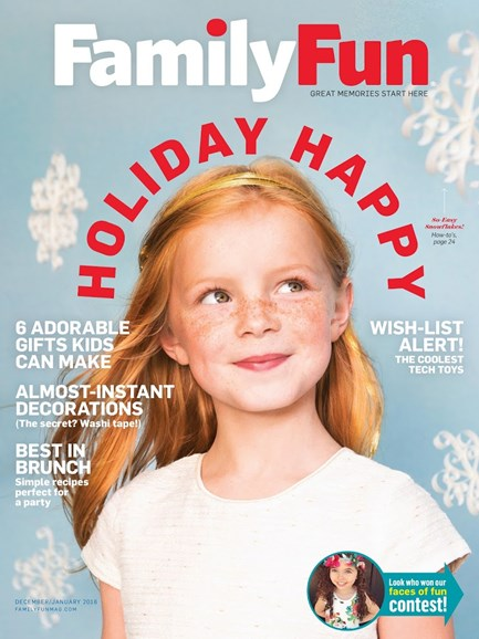 Family Fun Cover - 12/1/2015