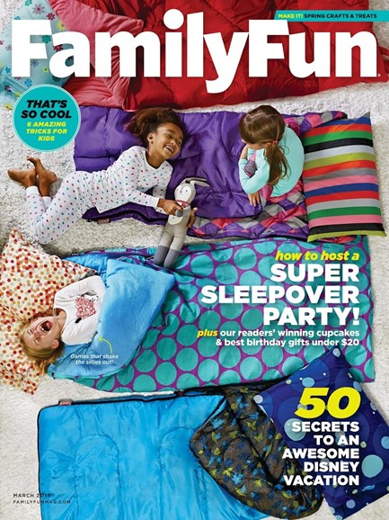 Family Fun Cover - 3/1/2015