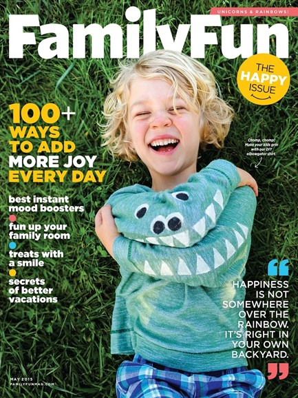 Family Fun Cover - 5/1/2015