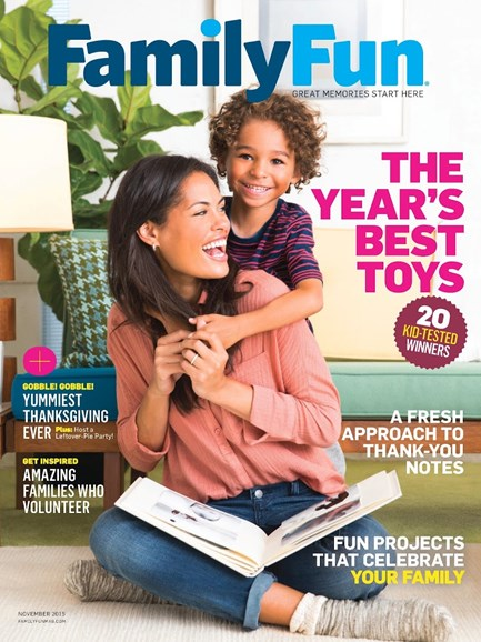Family Fun Cover - 11/1/2015