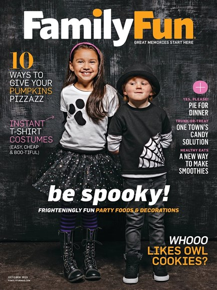 Family Fun Cover - 10/1/2015