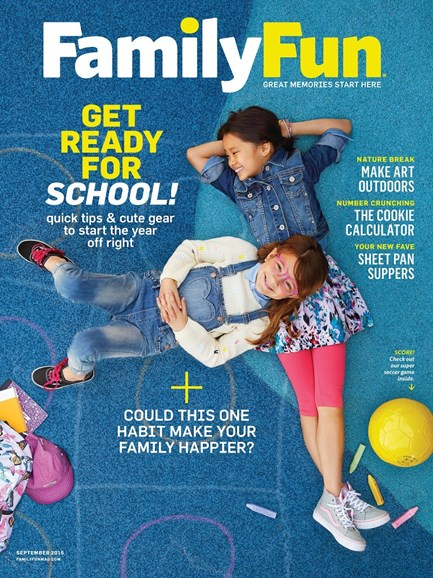 Family Fun Cover - 9/1/2015